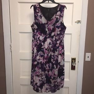 Simply Vera - Vera Wang Midi Floral Dress XL